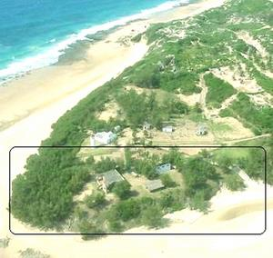 barra lighthouse 4x4 campsite camp site in inhambane - mozambique